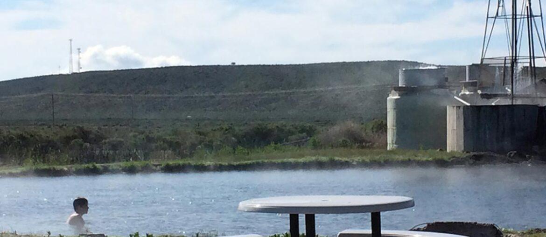Águas termais em Burns