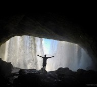 Cachoeira São Romão no Parque Nacional da Chapada das Mesas