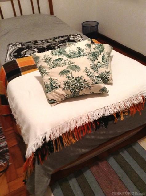 A cama de solteiro