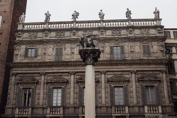 Palazzo Maffei na Piazza delle Erbe