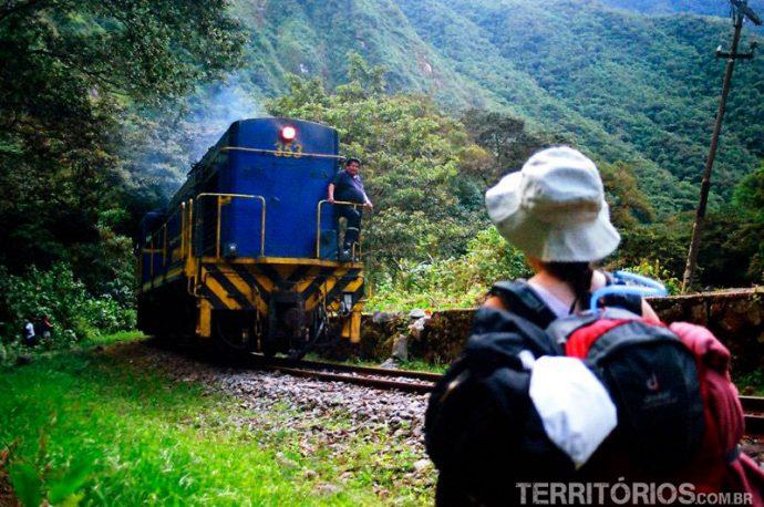 Trem para Machu Picchu
