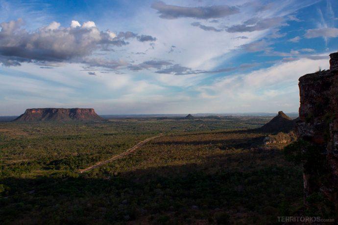 Vista para o Morro do Chapéu