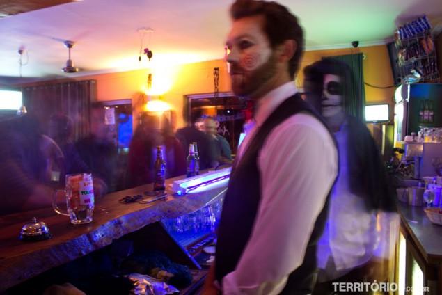 Festa de Halloween no Ashanti Lodge