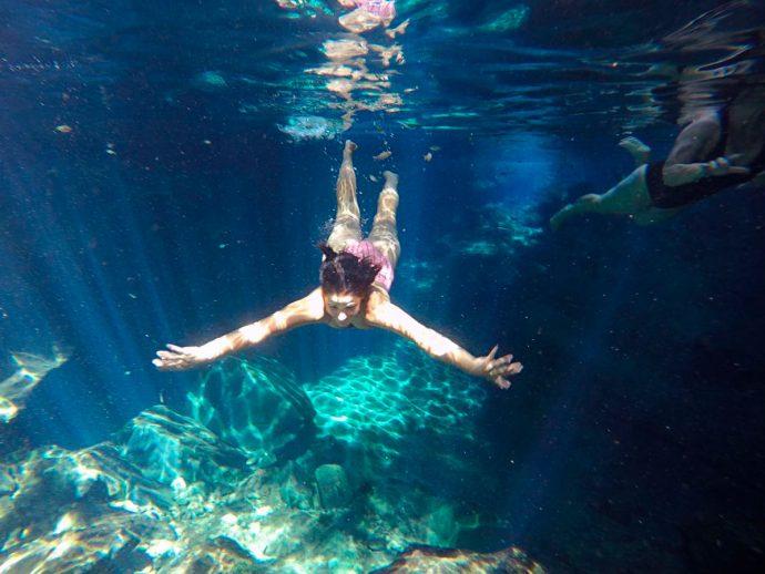 Mergulho no Encanto Azul