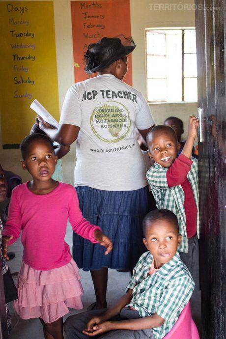 Fotos da Suazilândia mais trabalho voluntário
