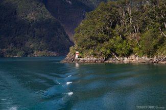 Cenário da travessia Cruce Andino entre Chile e Argentina