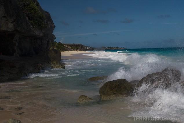 Crane Beach, em Barbados