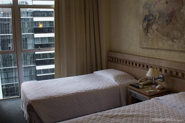 Hotel San Juan Royal, hotel no centro cívico de Curitiba