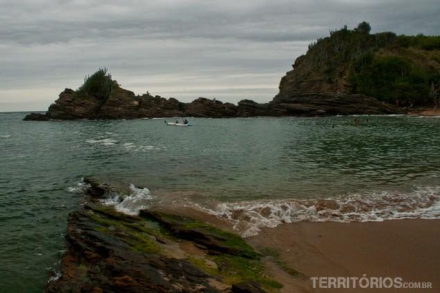Caiaque na Praia da Ferradurinha
