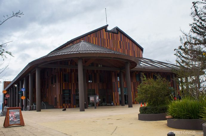 Fachada do Teatro del Lago