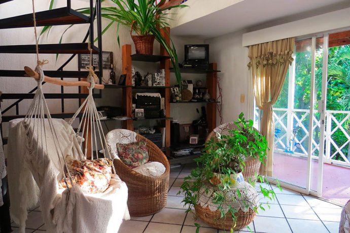 Sala na casa da Edith Susanny, nossa anfitriã no programa Posada Nativa
