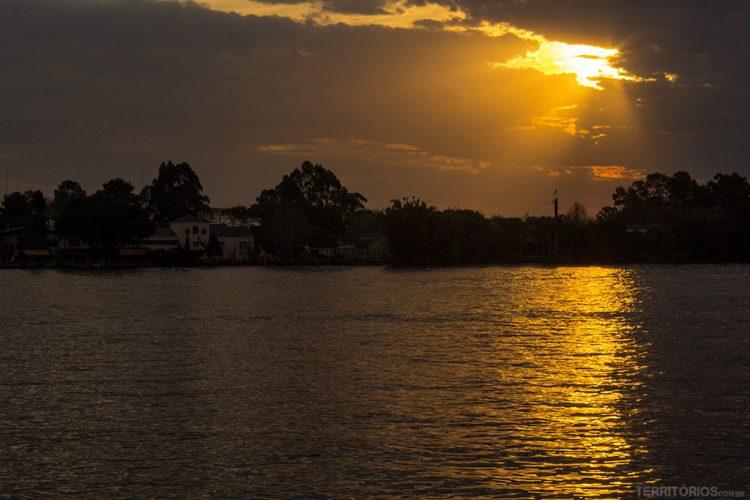 Navegar pelo Guaíba