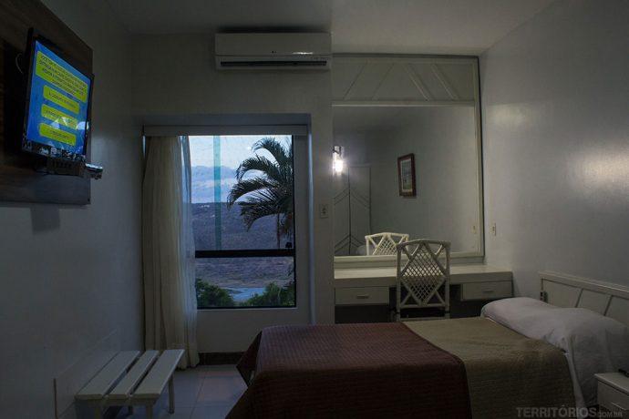 Meu quarto no Xingó Parque Hotel