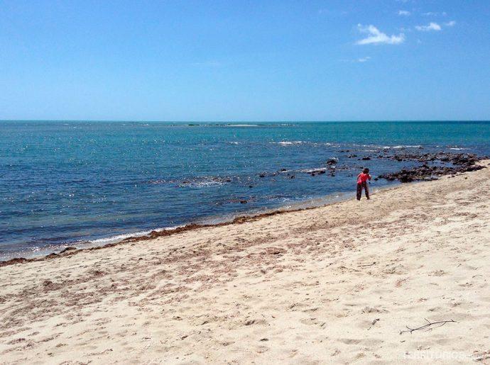 Praia Barrinha no litoral do Piauí