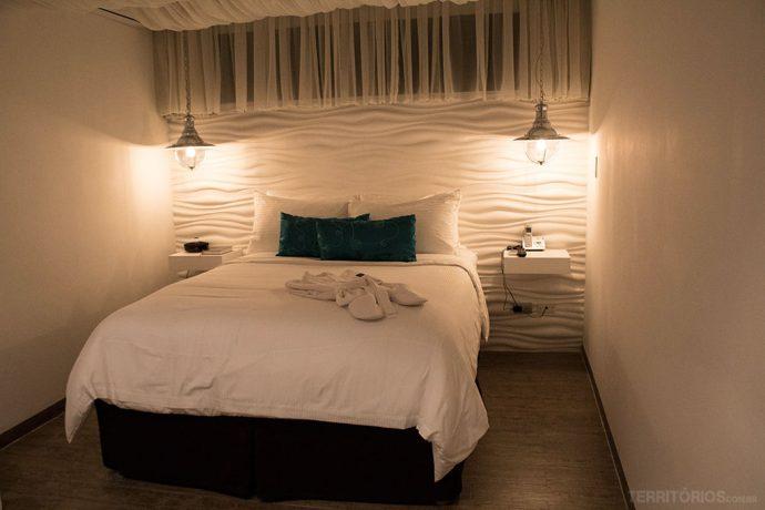 Suíte confortável no Sal y Luz Hotel Boutique