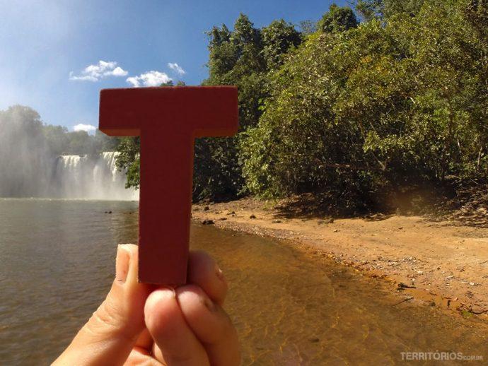 T no Parque Nacional da Chapada das Mesas