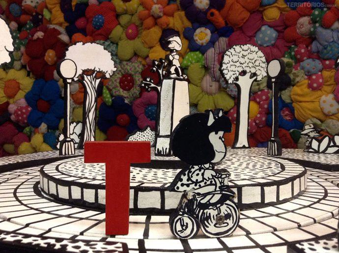 O T e a turma da Mafalda no Paço das Artes, em São Paulo