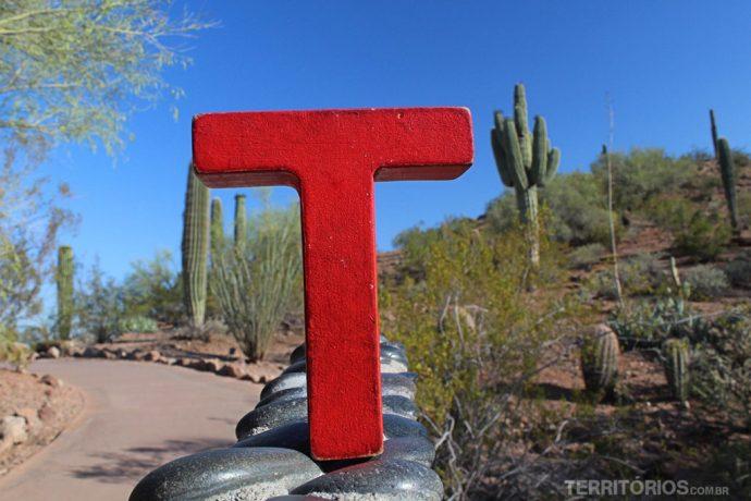 Por onde andaram os T's: Arizona
