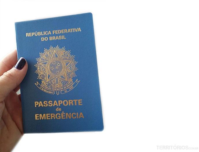 Coo tirar o passaporte de emergência