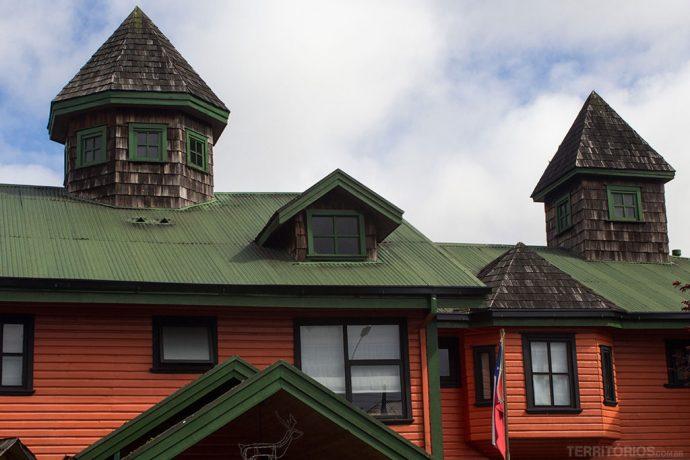 Casa típica de Puerto Varas