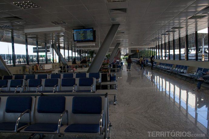 Área de embarque do aeroporto de Viracopos