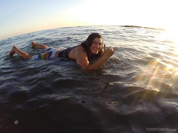 Instrutor de surf