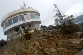 Confeitaria no alto do Cerro Campanário