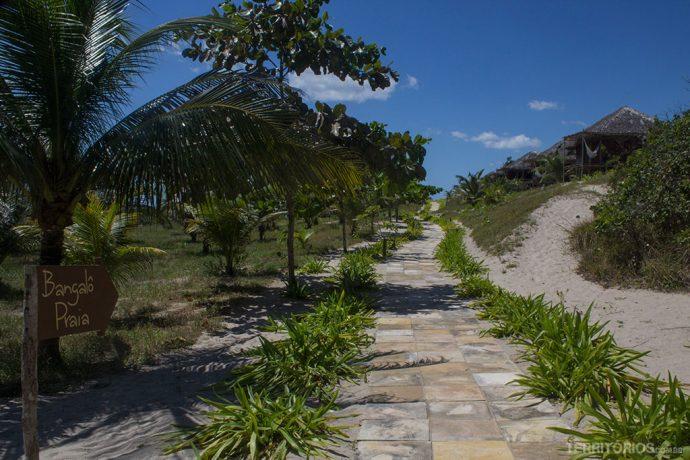 Rancho do Peixe, resort pé na areia e escola de kite surf