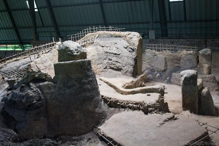 Ruínas da civilização Maia popular