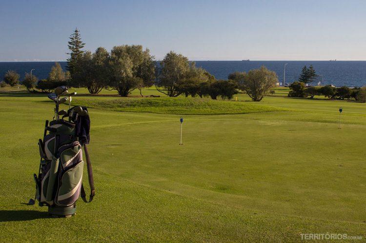 Campo de golfe em Cottlesloe, Western Australia - Austrália
