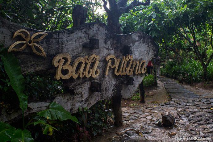 Entrada do Bali Pulina