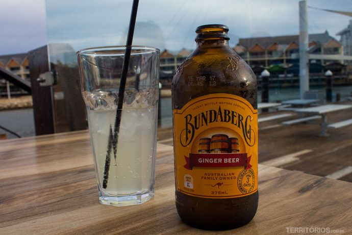 Parada para tomar minha cerveja preferida na Austrália com vista