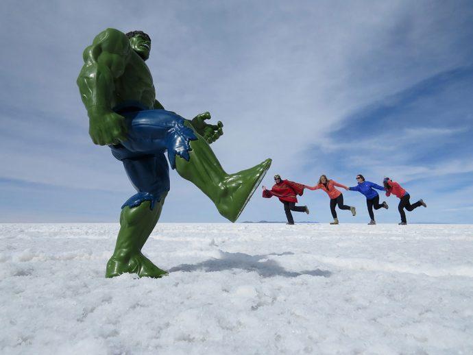 Barradas pelo Hulk