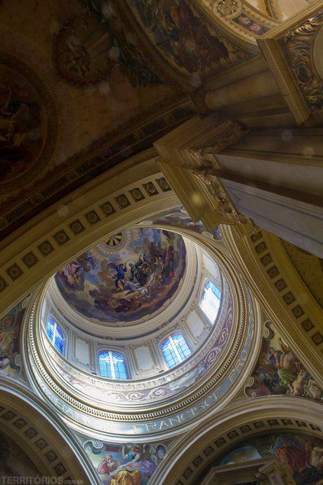 Pinturas de Aldo Locatelli na Catedral
