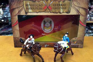 Brinquedo da Revolução Farroupilha no bazar da Salaberry em Pelotas