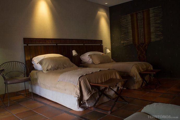 O meu quarto no melhor hotel no Atacama
