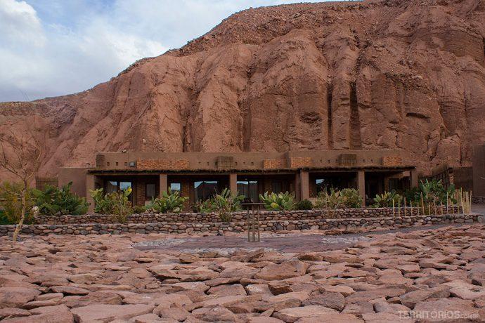 Conjunto de suítesintegradas ao ambiente tornam este o melhor hotel no Atacama