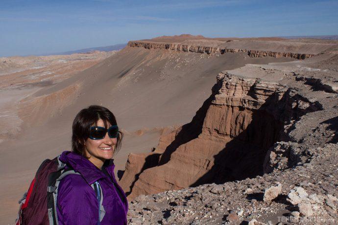 No início da trilha para Quebrada de Kari