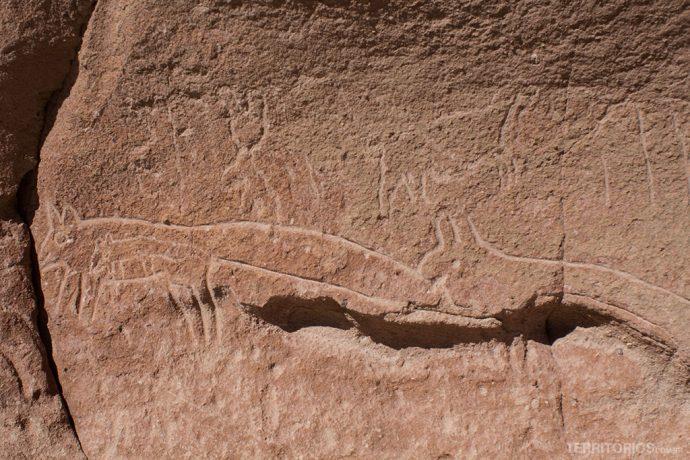 Petroglifos em Hierbas Buenas