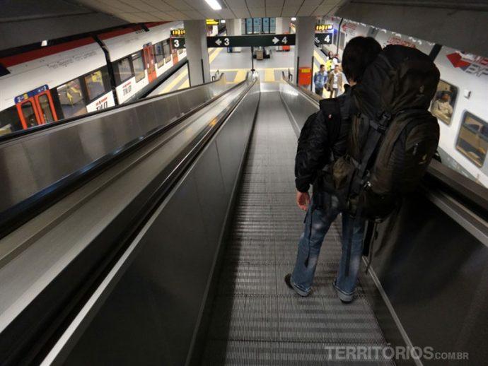 Circulando de metro pela Europa