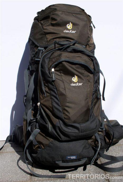 Cargueira completa com a mochila acoplada