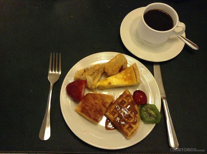 O meu café da manhã