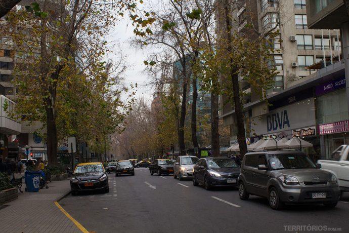 Rua Ricardo Lyon, no bairro Providencia