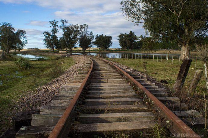 Estrada de ferro desativada