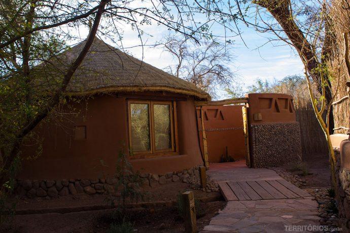 Cabana round room no Awasi Atacama