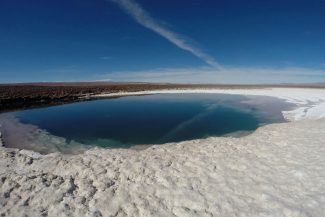 Última lagoa onde o banho é permitido