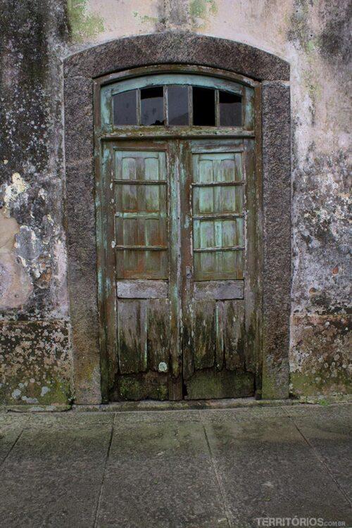 Porta no centro histórico de São José do Norte