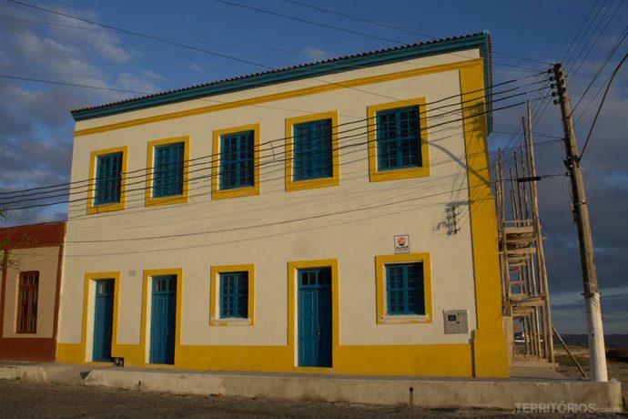 Casa colonial restaurada