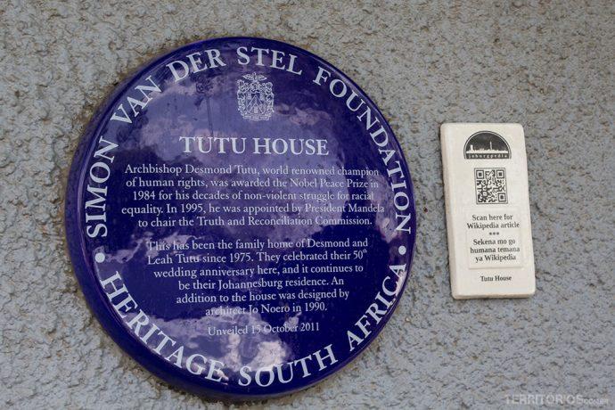 Casa do Nóbel da Paz Tutu