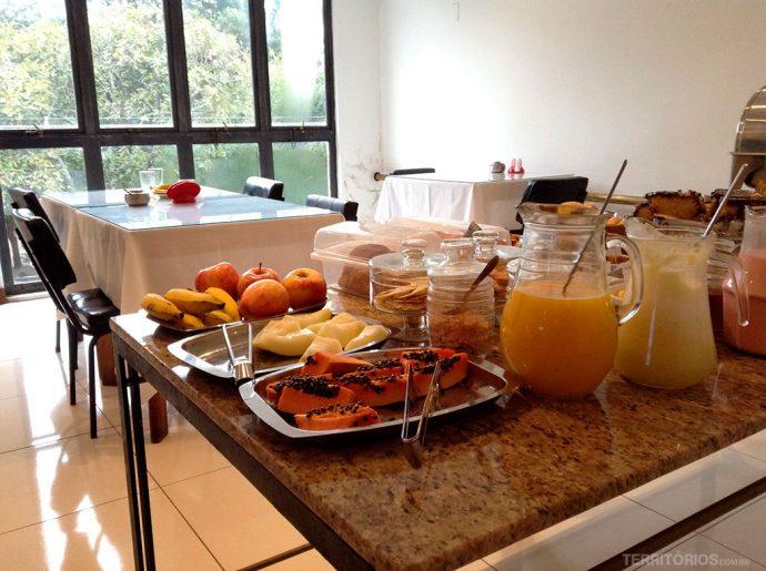 Café da manhã do Hotel Fenícia